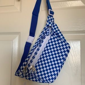 Blue Checkered - Fanny Pack (Tilly's)